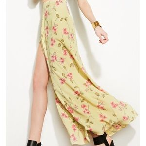 AURA maxi skirt